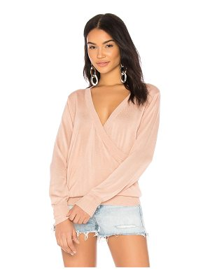 Callahan Deep V Wrap Sweater