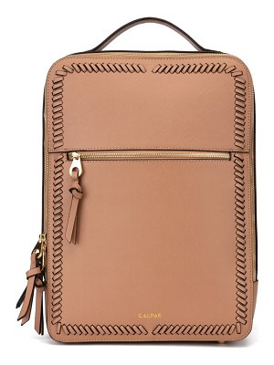 CALPAK kaya faux leather laptop backpack