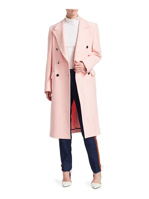 CALVIN KLEIN 205W39NYC double-breasted straight coat