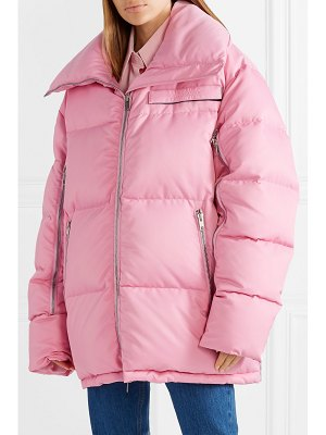 CALVIN KLEIN 205W39NYC oversized quilted shell coat