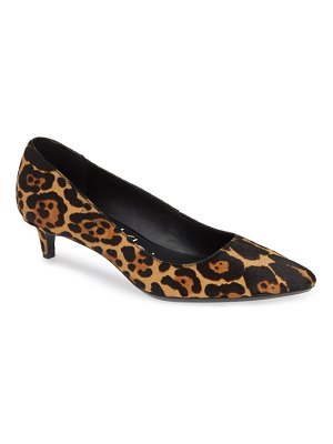 Calvin Klein gabrianna genuine calf hair pump