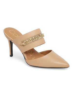 Calvin Klein ginette embellished pointy toe mule
