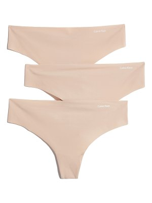 Calvin Klein Underwear 3 pack invisibles thongs