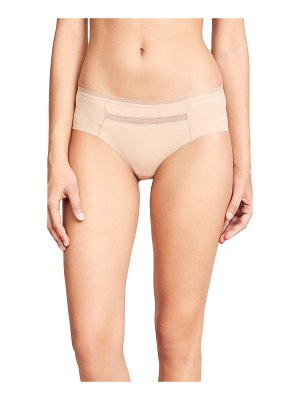 Calvin Klein Underwear invisibles with mesh hipster briefs
