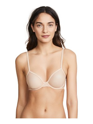 Calvin Klein Underwear sheer marq demi unlined bra
