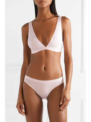 Calvin Klein Underwear stretch-cotton and modal-blend soft-cup bra