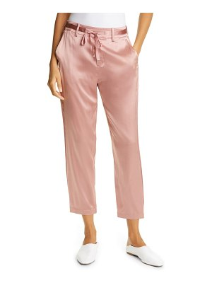 CAMI NYC alex crop silk blend pants