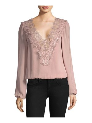 CAMI NYC Allanha Lace Blouse