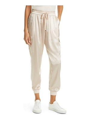 CAMI NYC elsie stretch silk joggers