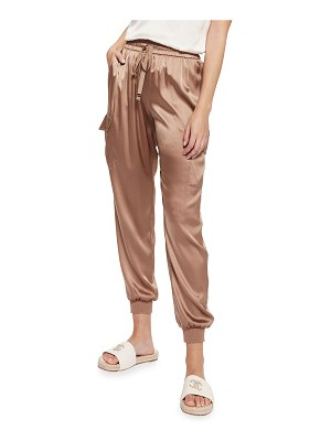 CAMI NYC The Elsie Silk Jogger Pants