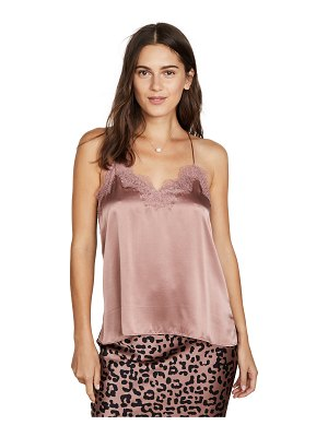 CAMI NYC the racer charmeuse tank