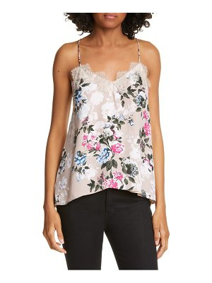 CAMI NYC the racer floral silk camisole