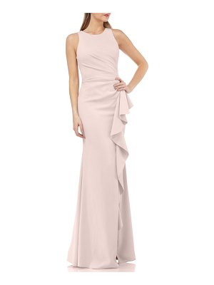 Carmen Marc Valvo Infusion carmen marc valvo couture infusion ruffle gown