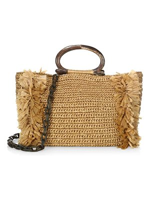 Carolina Santo Domingo large corallina ring tote