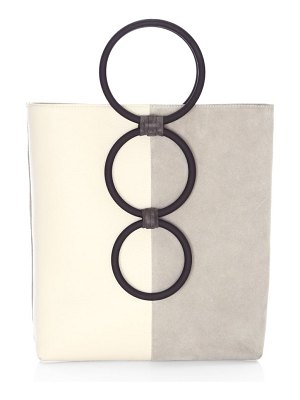 Carolina Santo Domingo petra ring handle tote