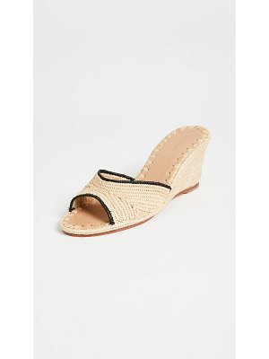 CARRIE FORBES nador heeled mules