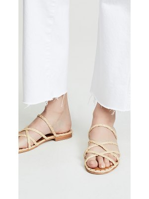 CARRIE FORBES noura braided sandals