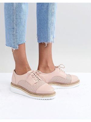 Carvela Kurt Geiger eva rope lace up flat shoe