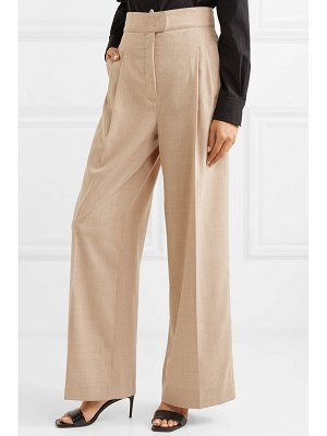 CASASOLA pleated wool wide-leg pants