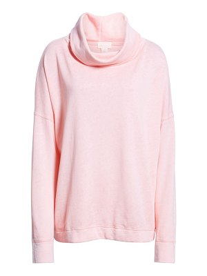 Caslon caslon burnout back pleat sweatshirt