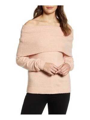 Caslon caslon convertible cowl neck sweater