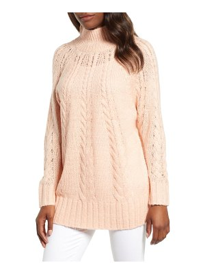 Caslon caslon dolman sleeve cable knit tunic