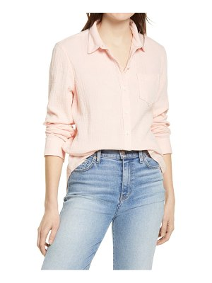Caslon caslon easy button-up shirt