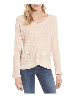 Caslon caslon marl v-neck sweater