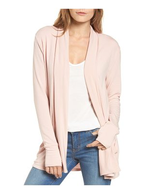 Caslon caslon off-duty french terry cardigan