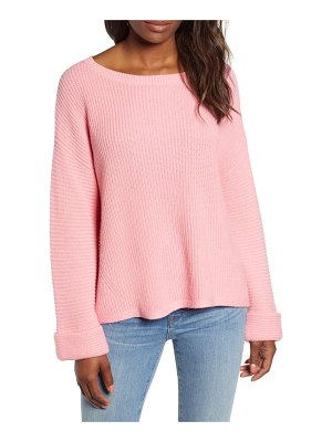 Caslon caslon shaker stitch sweater