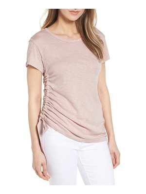 Caslon caslon shirred sheer tee