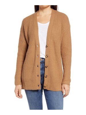 Caslon caslon textured v-neck cardigan