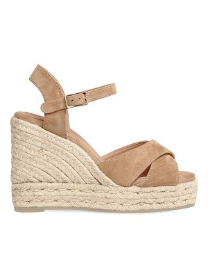 Castaner 100mm blawdell suede wedge sandals