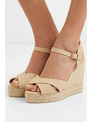 Castaner blaudel 100 canvas wedge sandals