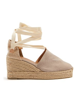 Castaner Campesina canvas wedge espadrilles