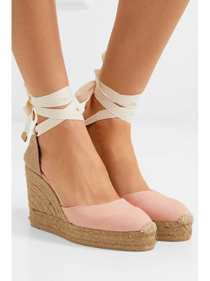 Castaner carina 80 canvas wedge espadrilles