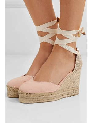 Castaner chiara 100 canvas wedge espadrilles
