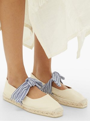 Castaner pura bow-tied canvas espadrilles