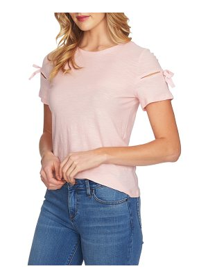 CECE BY CYNTHIA STEFFE Bow Sleeve Knit Top