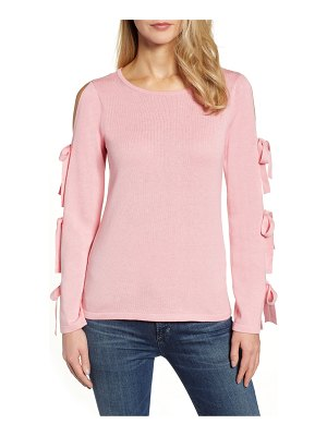 CeCe by Cynthia Steffe bow sleeve sweater
