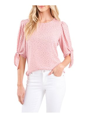 CeCe by Cynthia Steffe delicate tie sleeve blouse