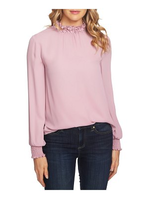 CeCe by Cynthia Steffe embellished high neck top