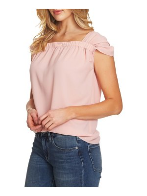 CeCe by Cynthia Steffe gathered cap sleeve top
