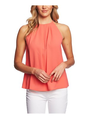 CeCe by Cynthia Steffe pleat halter top