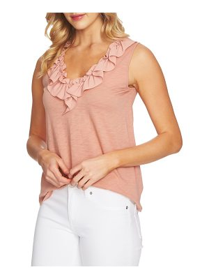 CeCe by Cynthia Steffe ruffle neck top