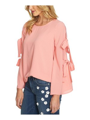 CECE BY CYNTHIA STEFFE Split Bell Sleeve Blouse