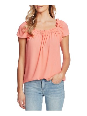 CeCe by Cynthia Steffe square neck blouse
