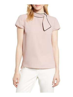 CeCe by Cynthia Steffe tie neck blouse