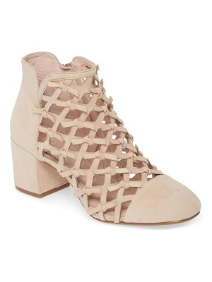 CECELIA NEW YORK laser cut knotted bootie