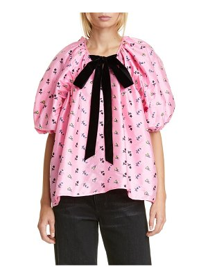 CECILIE BAHNSEN christine embroidered blouse